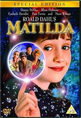 Matilda - Capa do DVD