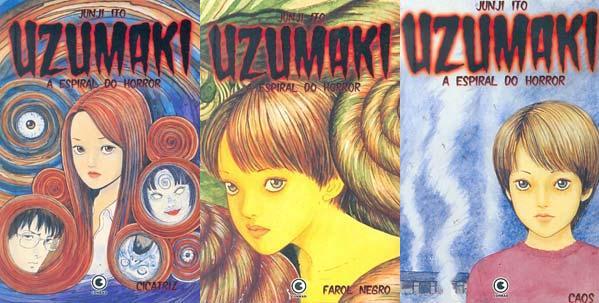 Uzumaki: A Espiral do Horror - Junji Ito