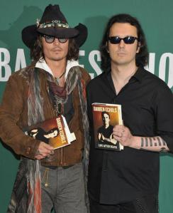 Johnny Depp e Damien Echols