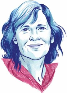Maria Semple (Caricatura), by Jillian Tamaki