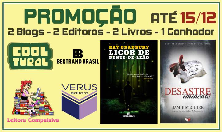 Banner Promoção - Licor de Dente-de-Leão e Desastre Iminente