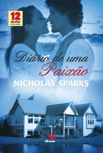 Diario de uma Paixao Nicholas Sparks capa