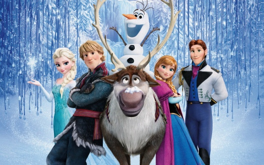 frozen personagens