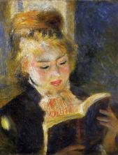 Jeune fille lisant, 1876, Renoir