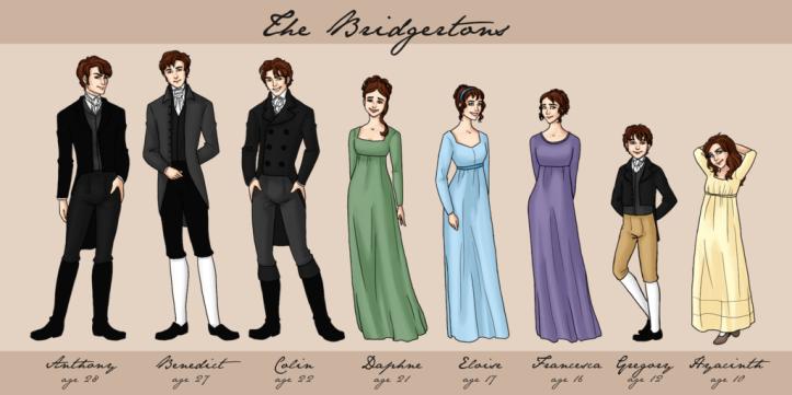 A Família Bridgerton (Filhos)