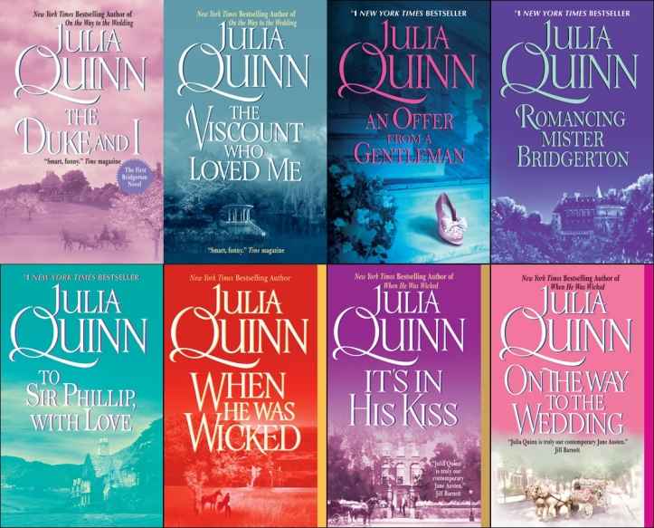 Os Bridgertons, de Julia Quinnem (Capas Originais)