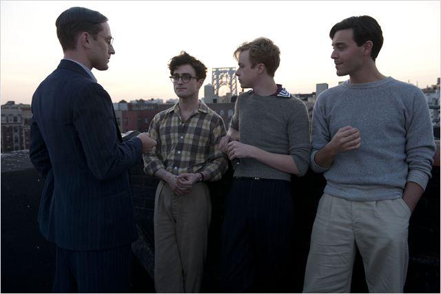 William S. Burroughs (Ben Foster), Allen Ginsberg (Daniel Radcliffe), Lucien Carr (Dane DeHaan) e Jack Kerouac (Jack Huston).