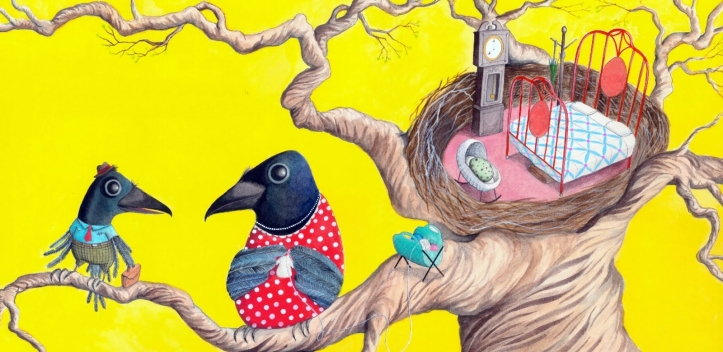 Os Corvos de Pearblossom (Ilustração de Sophie Blackall 2)