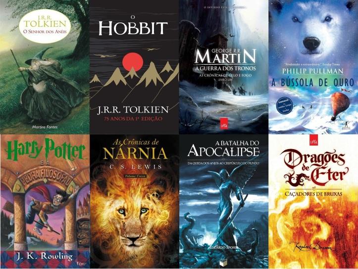 Outros livros que se inserem no gênero fantasia.
