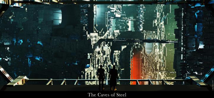 As Cavernas de Aço (Arte Conceitual)