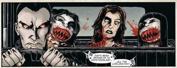 """[Clique para aumentar] Ilustração da Graphic Movel """"Wraith: Welcome to Christmasland"""""""