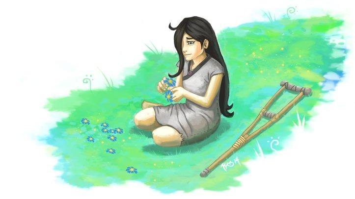 Imagem da Kira, de A Escolhida.