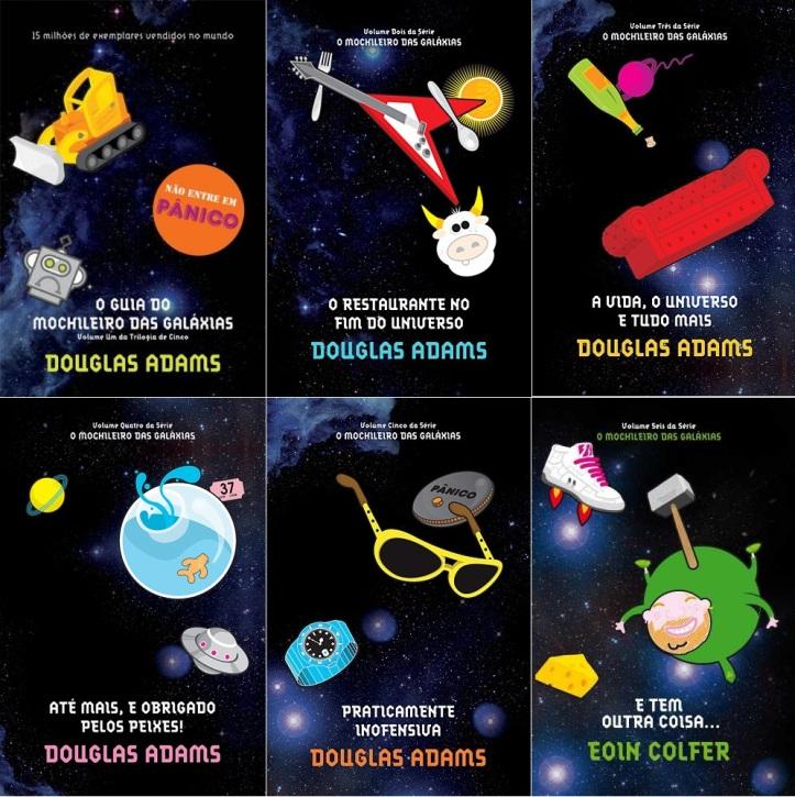 guia do mochileiro das galaxias serie livros