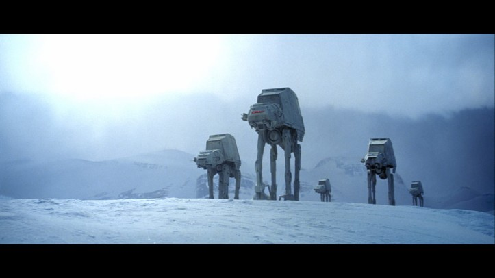 Walkers em ataque à base Rebelde