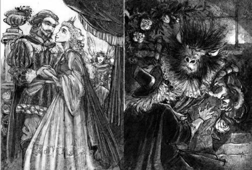 Ilustrações de Laurent Cardon para esta edição.