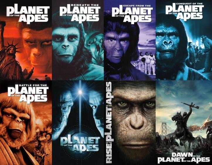 Filmes - O Planeta dos Macacos