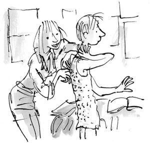 Lisa e Dennis, em O Menino de Vestido