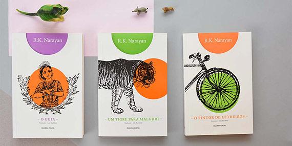 Obras de R. K. Narayan (Editora Guarda-Chuva)