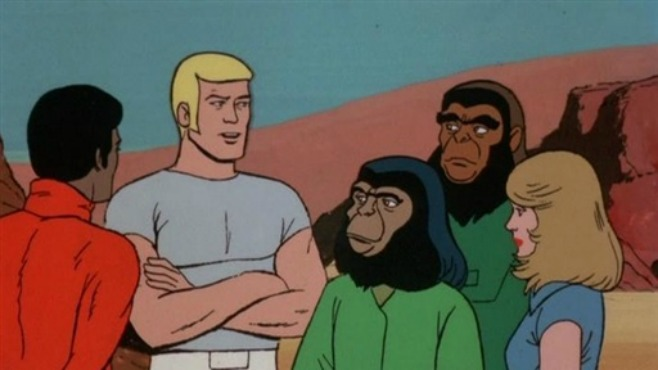 Return to the Planet of the Apes (Cartoon Screenshot)