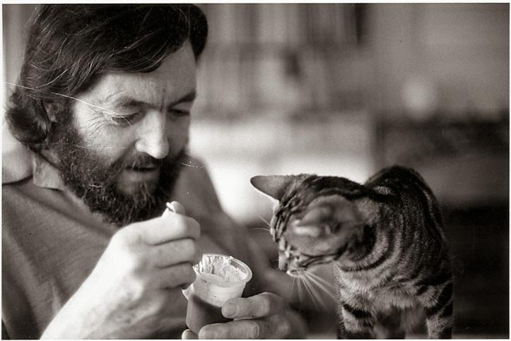 Julio Cortázar adorava gatos