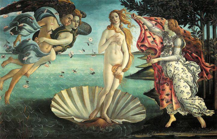 o nascimento de venus sandro botticelli