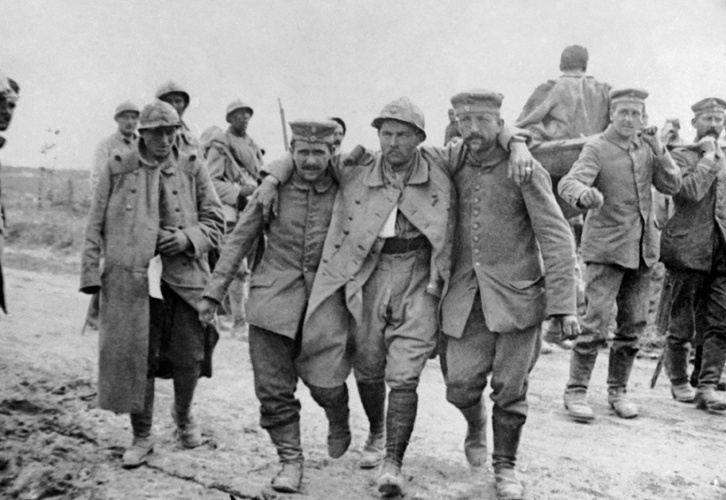 Soldados da Primeira Guerra Mundial