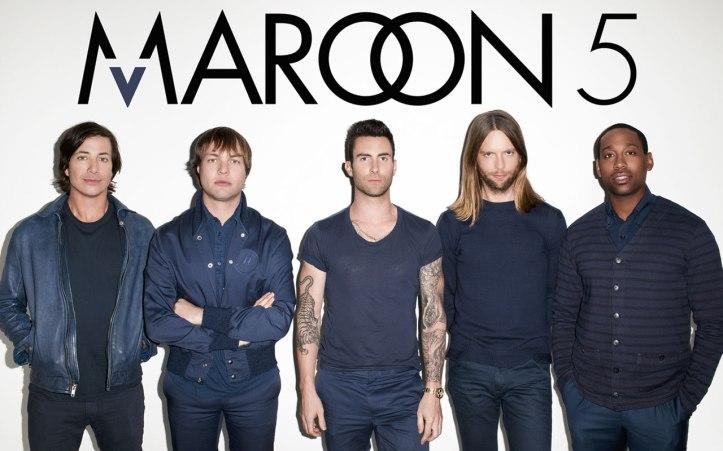 TAG Maroon 5 Literário