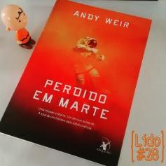 Perdido em Marte, de Andy Weir