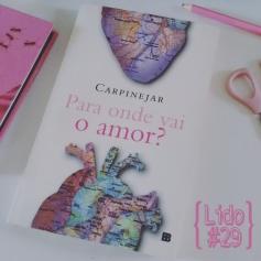 Para Onde Vai o Amor?, de Fabrício Carpinejar