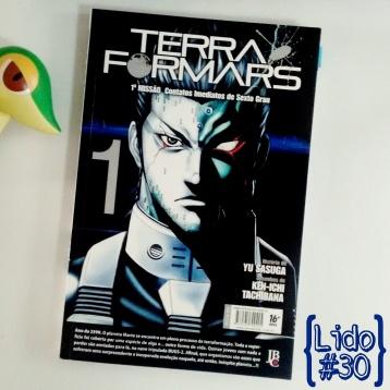 Terra Formars: Vol. 01, de Yu Sasuga e Ken-Ichi Tachibana