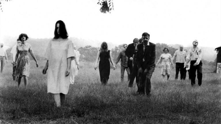 """Cena do filme """"A Noite dos Mortos Vivos"""" (1968)"""