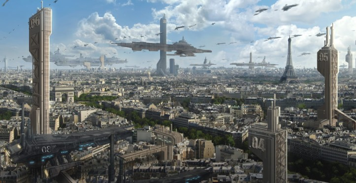 Futuristic Paris by Ken Lebras, France
