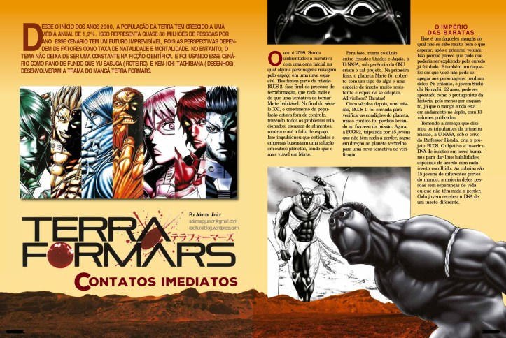 Neo Tokyo - Terra Formars (Preview)