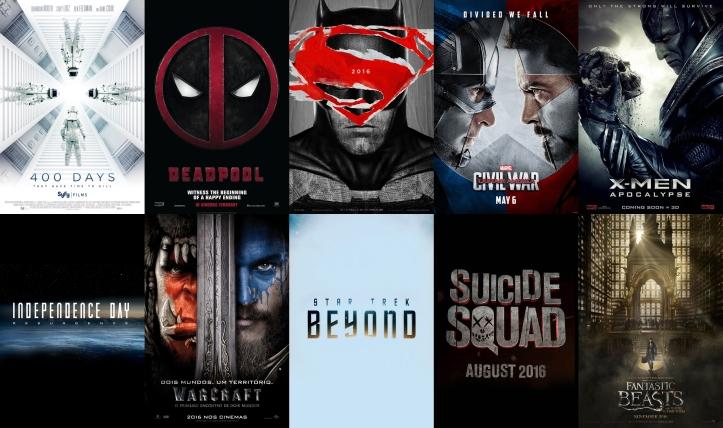 10 filmes 2016