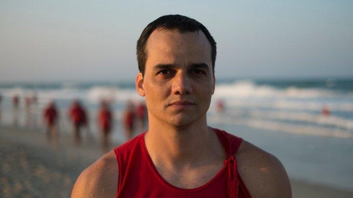 Wagner Moura, no filme Praia do Futuro