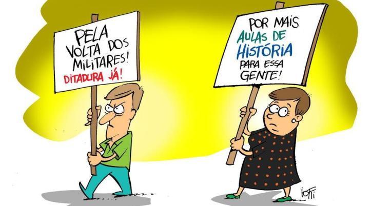 Charge Iotti (Ditadura Militar)