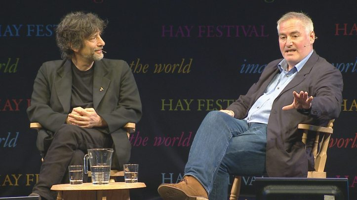 Neil Gaiman e Chris Riddell