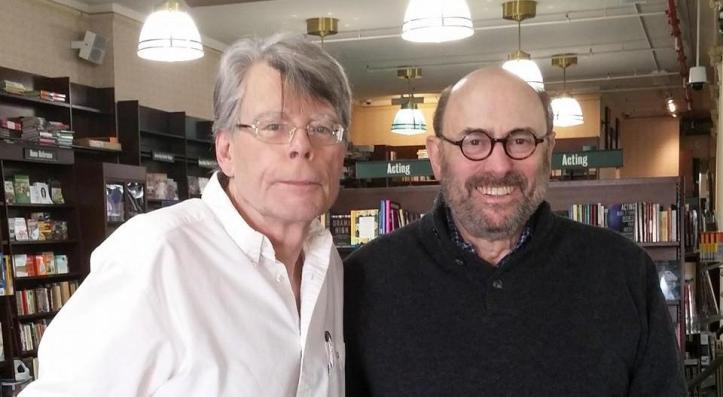 Stephen King and Peter Straub